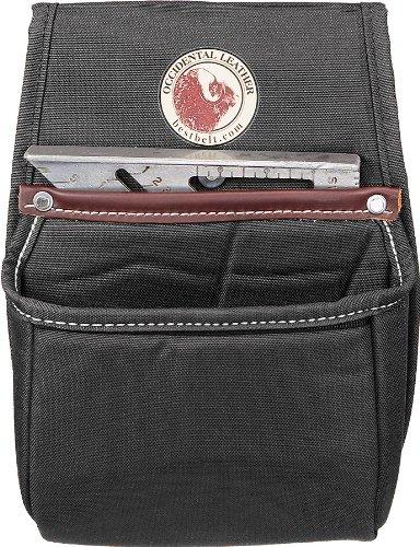 Occidental Leather 8384Stronghold® Dachsparren quadratisch Universal Tasche–Schwarz (Bag Tool Leather Heavy Duty)