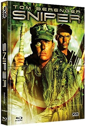 Sniper - der Scharfschütze [Blu-Ray+DVD] - uncut - auf 444 limitiertes Mediabook Cover B [Limited Collector's Edition] [Limited Edition]