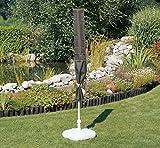 acamp Schutzhülle für Sonnenschirme bis 300 cm Gartenmöbel, Anthrazit, 113x75x102 cm