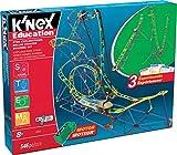 K'Nex Bildung STEM Explorations Achterbahn-Aufbauset für Altersgruppen 8+ Aufbau- und Bildungs-Spielzeug, 546 Einzelteile