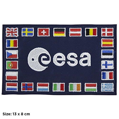 Patch, Aufnäher bestickt Bügelbild,, Esa European Space Agency NASA V2,,