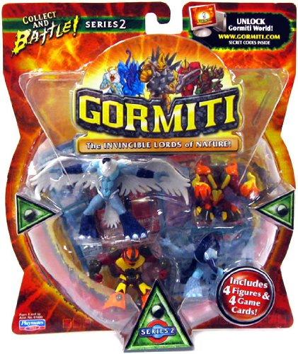 Gormiti Lords of Nature Series 2 - 4 Pack