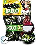 Schildkröt Funsports Netztasche Crossboccia Doublepack Pro 2x3er Set für 2 Spieler, green sneak, 28 x 18 x 7 cm, 970831