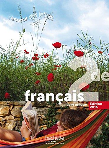 L'écume des lettres 2de - Livre de l'élève format compact - Edition 2015 par Valérie Presselin