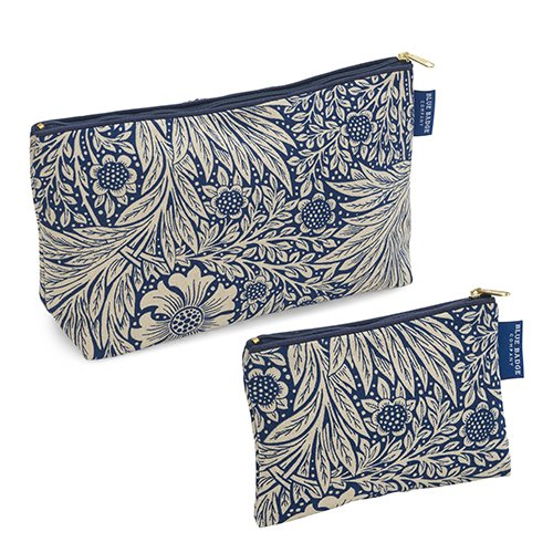 Blue-Badge-Company-Matching-Set-Bundle-Luxury-William-Morris-Marigold-Indigo-Cotton-Toiletry-Bag-and-Padded-Cosmetic-Purse-with-Waterproof-Lining