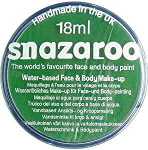 Snazaroo (TM) à base d'eau Face Paint (18ml) - Bright Green [Jouet]