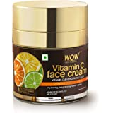WOW Skin Science Vitamin C Face Cream - Oil Free, Quick Absorbing - For All Skin Types - No Parabens, Silicones, Color, Miner