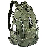 LHI Sac à dos tactique 35L pour homme, Molle Assaut Pack, sacs à dos pour ordinateur portable pour voyage trekking…