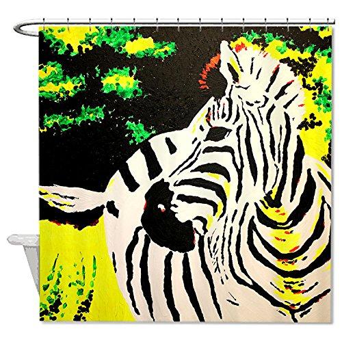 whiangfsoo-zebra-cartoon-con-bosque-fondo-casa-decro-poliester-cortina-de-ducha-de-bano-10-60x72150x