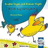 Großer Vogel und Kleiner Vogel: Kinderbuch Deutsch-Türkisch mit Audio-CD