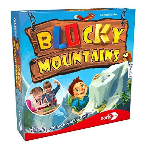Noris 606011679 Blocky Mountains, Geschicklichkeitsspiel