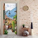 Türtapete selbstklebend TürPoster - SEE ROMANTIK - Fototapete Türfolie Poster Tapete Meer