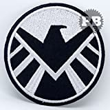 # 245S.H.I.E.L.D (Iron-Man) Marvel agente de Shield película hierro Sew en bordado parche
