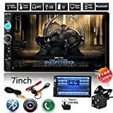 2 Din Car Radio, 7 inch Touch Screen Double Din Car Stereo, Support