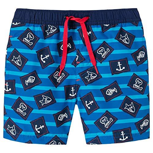 t´N Sharky Swimshorts Badeshorts, Blau (Admiral 801), 92 (Herstellergröße: 092) ()