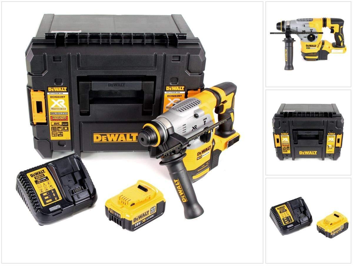 DeWalt DCH 283 M1 Akku Kombihammer 18V 2,8J SDS plus Brushless+ 1x Akku 4,0Ah + Ladegerät + TSTAK
