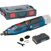 Bosch Professional Click&Go 06019C5002 Outil rotatif multifonction GRO 12V-35 solo, L-Boxx