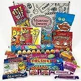 Ce mini panier de Heavenly Sweets contient une sélection classique de nos bonbonsbritanniques préférés, des années 80 et 90. Pour les petits et les grands, ce coffret cadeau s'adapte parfaitement pour les anniversaires, Pâques, Noël ou encore la Sa...