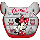 Disney Baby Universal Baby Booster Seat Minnie Group 2/3 15-36 Kg (36 Months, Red)