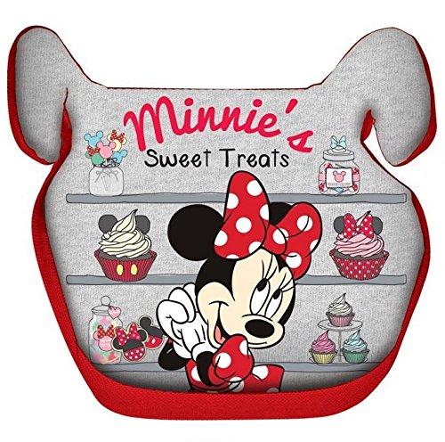 Mickey Mouse 25511 Minnie Mouse Sitzerhöher für Kinder von 15-36 kg-Geprüft nach ECE 44/04