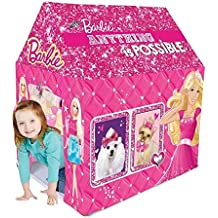 Zitto Barbie Kids Play Tent House, Multicolour