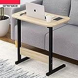 YNN Laptop Schreibtisch Schlafzimmer Bett Schreibtisch tragbaren Nachttisch Lift Tabelle Faul Tisch Frühstück Tabelle 60 * 40 * 68 cm (Farbe : C)