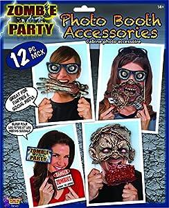 Forum Novelties X79143 Zombie - Juego de funda para fotos, multicolor, talla única