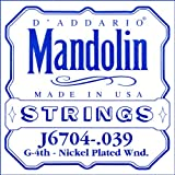 D\'Addario .039 Nickel Single String for Mandolin