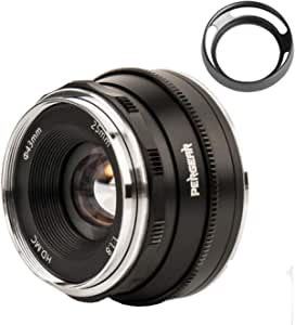 Pergear 25mm F1 8 Lens For Olympus And Panasonic Micro Camera Photo