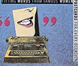 A Queer Postcard Book: Fitting Words From Fitting Women by Laurence Jaugey-Paget (1995-01-01) bei Amazon kaufen