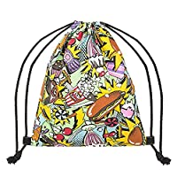 Vikings Gym Bag Gym Bags Backpack Multicolor Fastfood & Candys