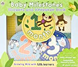 #6: Baby Milestones Stickers and Keepsake Book: Growing Wild With Little Learners
