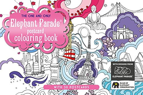 The One and Only Elephant Parade Postcard Coloring Book (One and Only Colouring / One and Only Coloring)