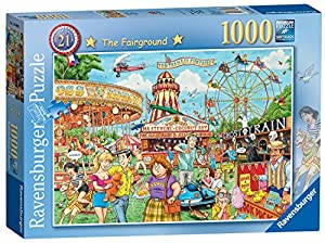 Ravensburger 13990 Best of British No. 21-The Fairground Rompecabezas de 1000 Piezas,