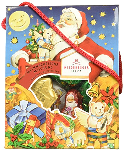 Preisvergleich Produktbild Niederegger Täschchen Weihnachtliche Mischung,  (1 x 95 g)