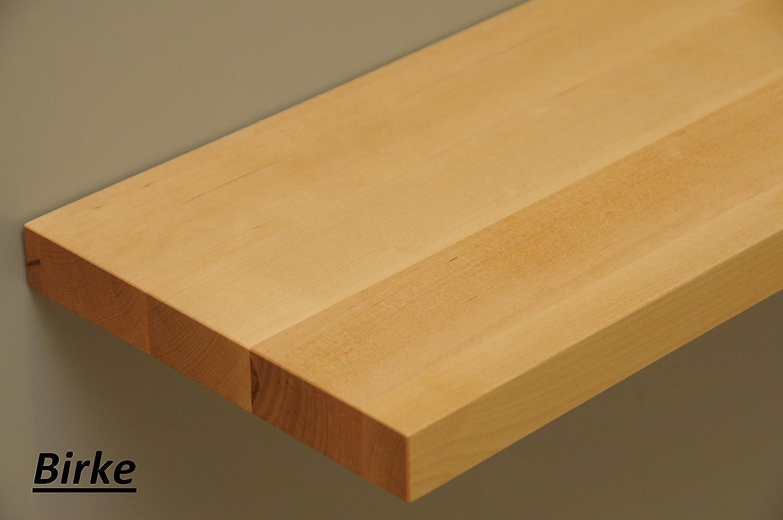Wandregal holz massiv  Wandbord Wandboard Design Livingboard Regal massiv Holz ...