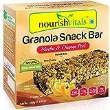 #2: Nourish Vitals Granola Snack Bar - Mocha & Orange Peel (5 Bars) - 250g