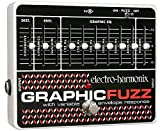 Electro Harmonix Graphic Fuzz Pedal for Electric Guitar Silver