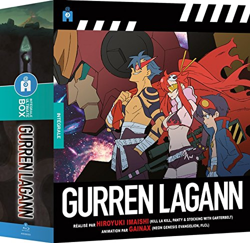 Gurren Lagann - Intégrale [Francia] [Blu-ray]
