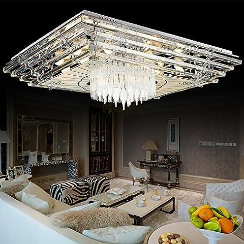SAEJJSD-Camera da letto minimalista moderna lampada 900 * 700 led soffitto lampada salotto luce acqua luce e lampade studio creativo (mm)