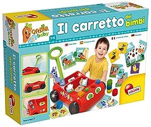 Lisciani-Juegos Educatifs-57733-Carotina Baby Wagon