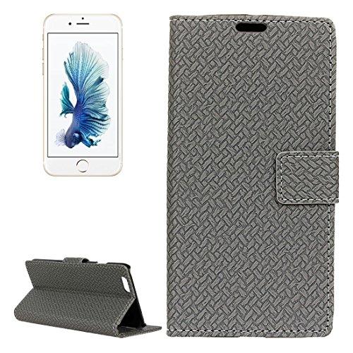 JING Pour iPhone 6 Plus / 6s Plus, Flash Powder Twinkling NightSky Premier quart de lune Pattern Soft TPU Housse de protection ( Color : Black ) Grey