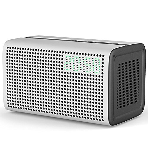 WLAN-Lautsprecher mit Amazon Alexa Intergriert, [Upgrade Version] GGMM E3 Wi-Fi Multiroom Airplay Lautsprecher Bluetooth für Musikstreaming, 20W (Weiß)