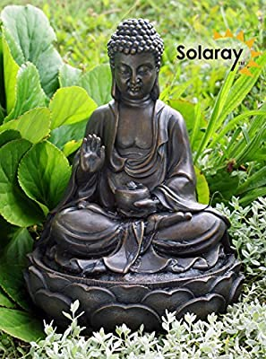 Anya Buddha Solar Water Feature by Eco Solaray