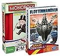 Hasbro 2jeux de voyage 29188100–Monopoly Compact b0995100–Flotte manöver Compact