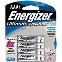 Energizer AAA Lithium 4 Pack