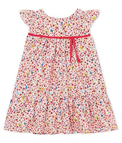 Mädchen Kleid Robe MC_4738201, Mehrfarbig (Marshmallow/Multico 01), 68 (Herstellergröße: 6M/67cm) ()
