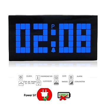 t tocas tm nouveau digital numérique grand chiffre led horloges