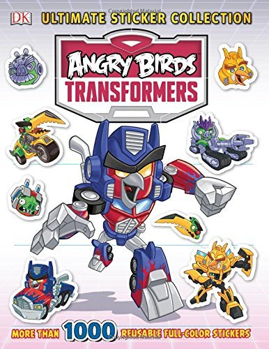 Ultimate Sticker Collection: Angry Birds Transformers (ULTIMATE STICKER COLLECTIONS) by DK Publishing (2014-11-03)