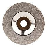 WEONE Reduzierte funken Diamant-Schleif Scheibenrad Glas 4 'Slivery 16mm Innendurchmesser 1,2 mm Dicke